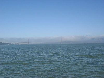 Golden Gate Bridge from afar