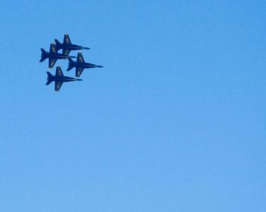 the Blue Angels were in town for the weekend