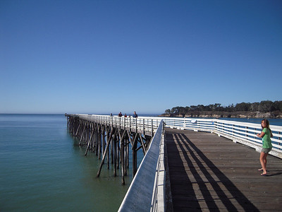 Pier at Hearst Castle Drive
