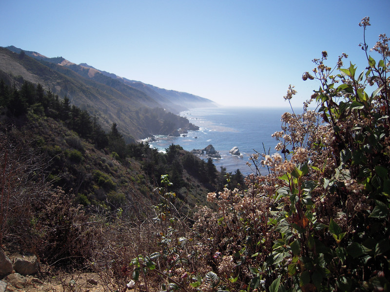 Coast line of Big Sur
