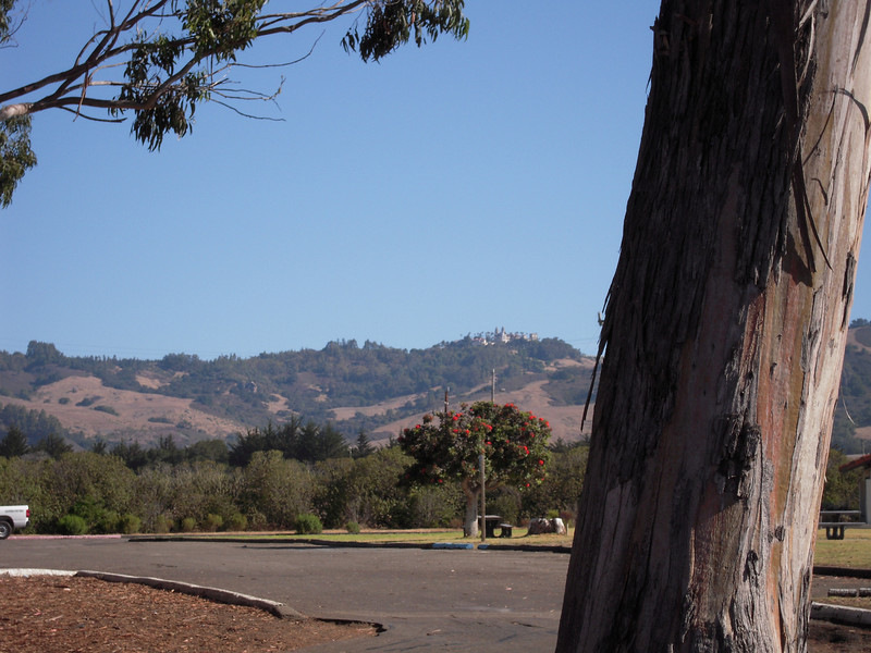 Hearst Castle....can you see it