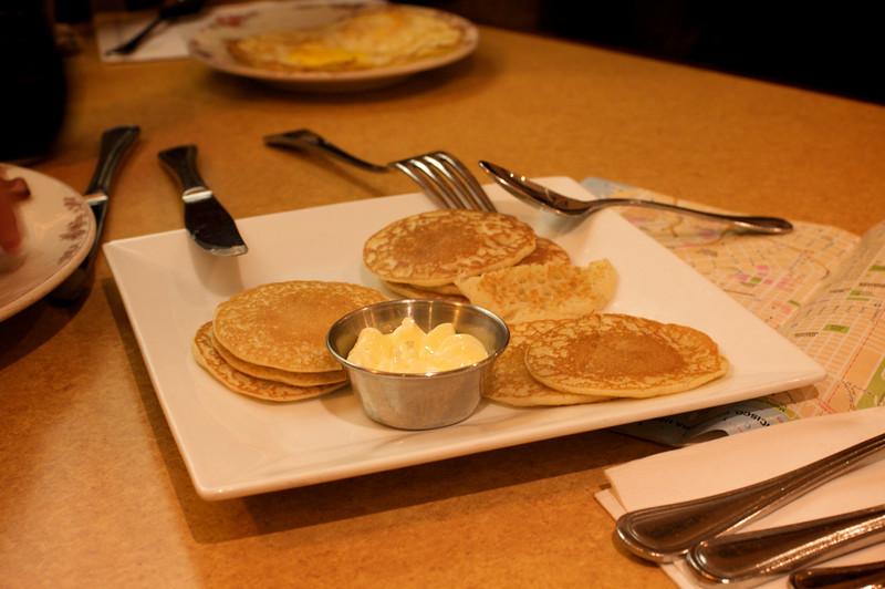 <center>Sears' famous mini pancakes</center>