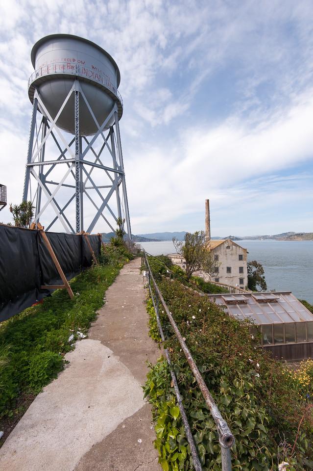 Alcatraz Water Tower