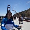 At the u-turn at the Golden Gate bridge