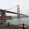 Golden Gate Bridge at Fort Point<br /> <br /> Contributed Photo by Maria Dyson/Ellen Yeates