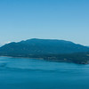 Looking south towards Mount Constitution on Orcas Island