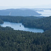 Mountain Lake east of Mount Constitution in Moran State Park on Orcas Island