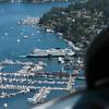 Ferry docked at Friday Harbor on San Juan Island