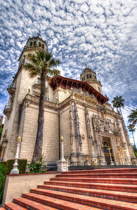 The Casa Grande is the 60,645 square-foot centerpiece of Hearst Castle.