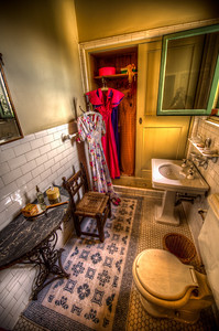 Bathroom in one of the cottages