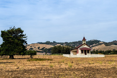 Old school house San Simeon