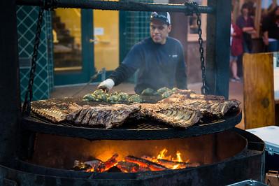 BBQ San Luis Obispo Farmers Market
