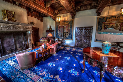 Upstairs sitting room in Casa Grande.