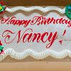 Nancy's birthday cake - thank you Arnold and family!