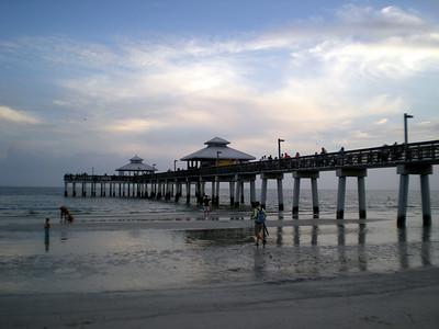 Boardwalk at Fort Meyers Beach