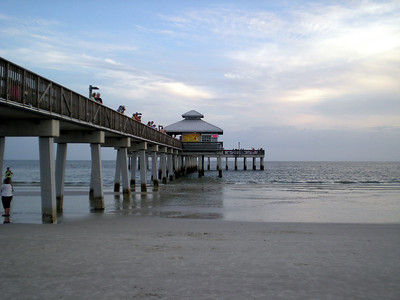Gazebo at Fort Meyer's Beach Pier