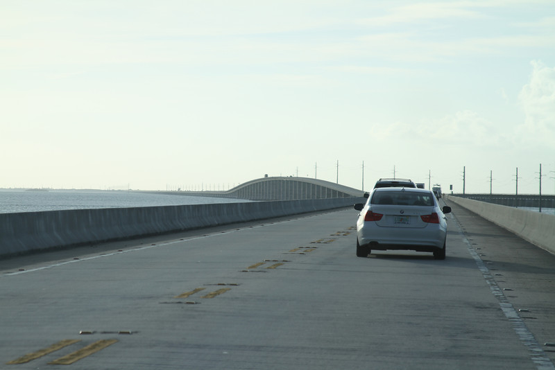 7 mile bridge, Florida Keys on the way to Key West