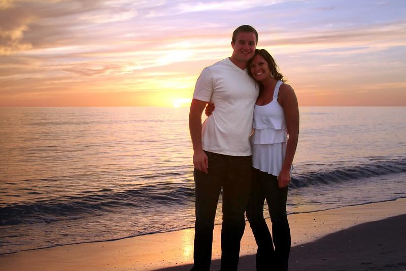 Nick and Jess - Bowman's Beach, Sanibel Island
