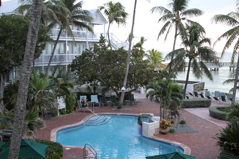 Where we stayed in Key West, Coconut Beach Resort
