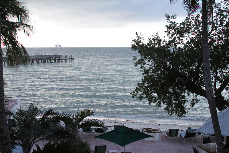 Another view out of our door at Coconut Beach Resort, Key West