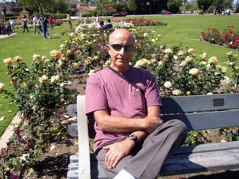 Howard at Santa Barbara Mission