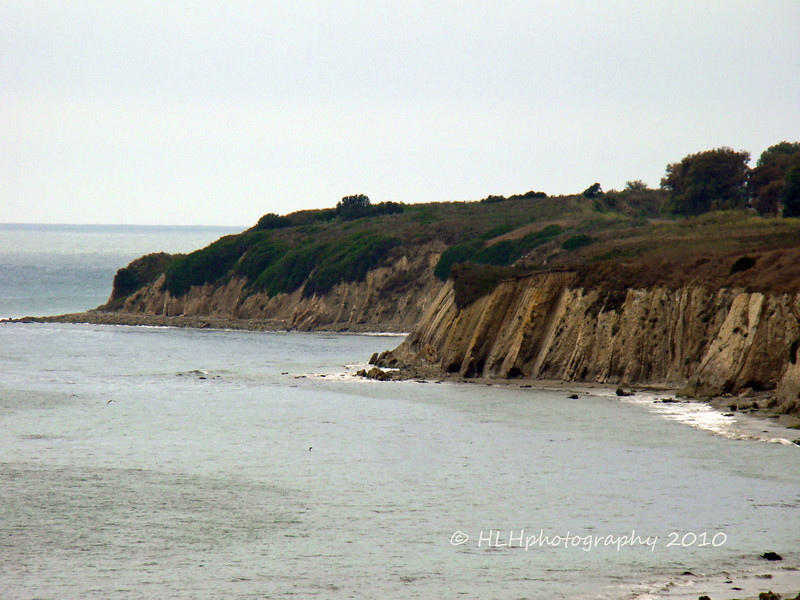 Cliffs, Hwy 101, about 30 miles south of Buelton, CA