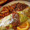 Week-end Special at Rose Cafe, the Zucchini Omelet. This is one of our favorites!