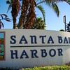 Entrance to Santa Barbara Harbor.