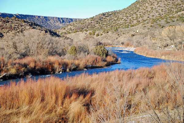 Rio Grande between Taos and Santa Fe