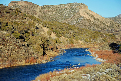 Rio Grand between Taos and Santa Fe