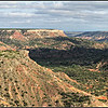 Palo Duro Canyon viewed from the Visitor Center Overlook.