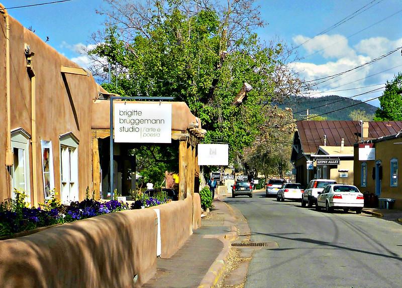 Canyon Road in Santa Fe