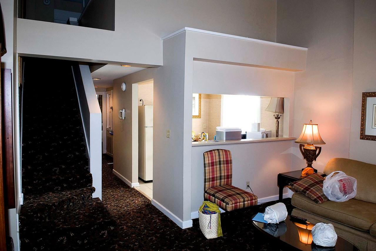 Inside of Inn room
