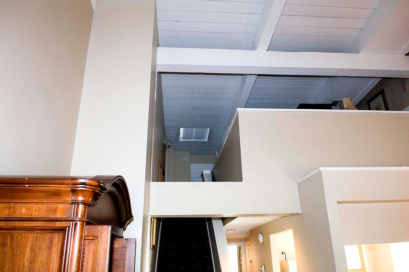 Looking up to loft