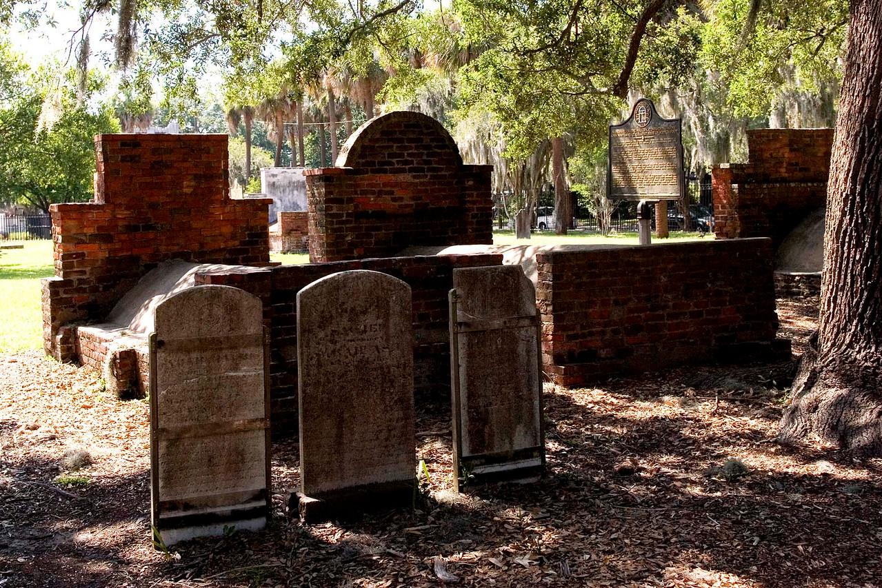 An historic cemetery