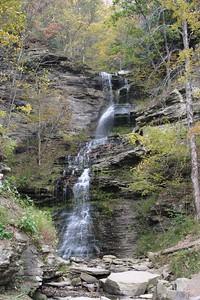 Cathedral Falls in W. Virginia