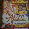 Torchwood star John Barrowman in a panto.  I thought it was on ice, but apparently not.