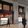"The most prominent London bookstore chain (local) is called ""Foyles""."