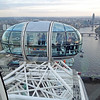 An adjacent car on the London Eye.