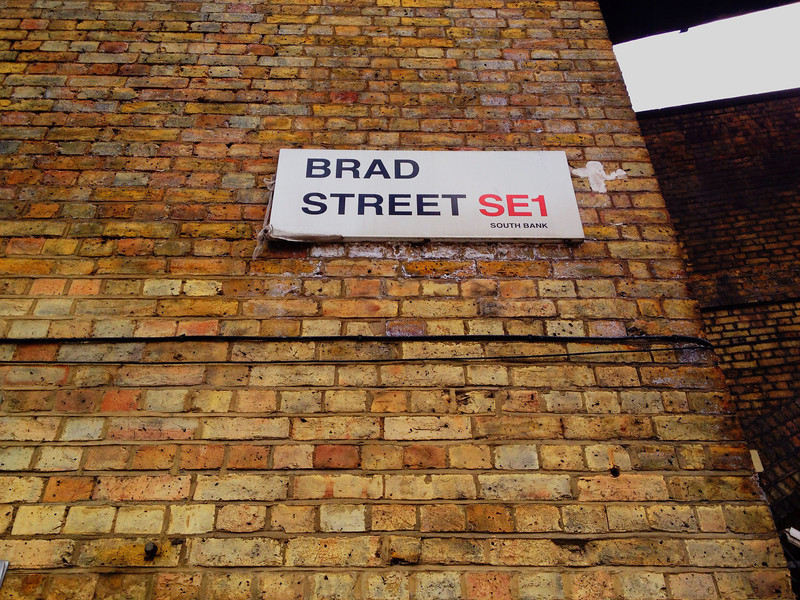 Found the perfect London street for Ruth to live on.