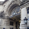 An entrance to Waterloo Station.