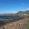 Drove to nearby Applecross. The views and setting were breathtaking.