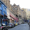 Edinburgh: Candlemaker Row, from the bottom of the street