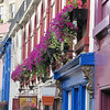 Edinburgh - Candlemaker Row - there were flower boxes all throughout every town and village we travelled through