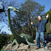 jim being surprized by nessie. Really its a nice friendly monster.