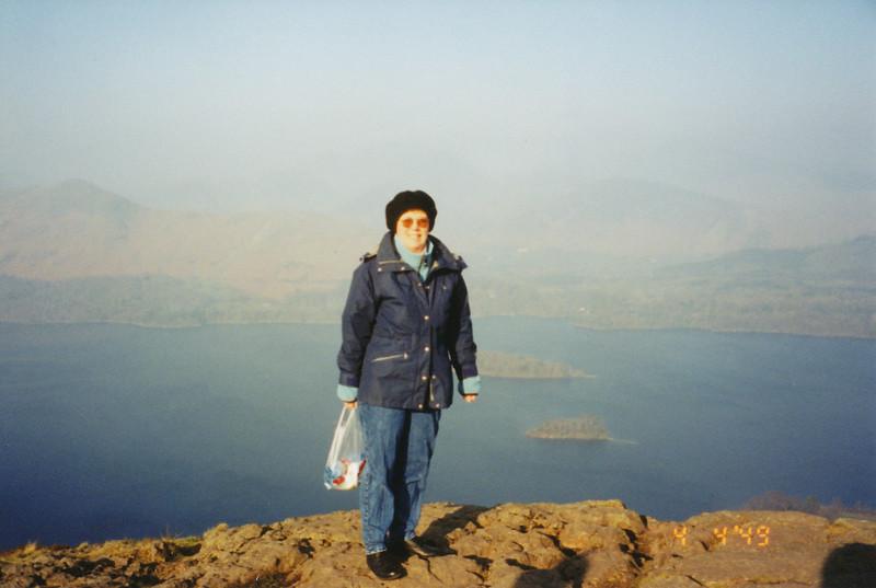 on Top of Walla Crag