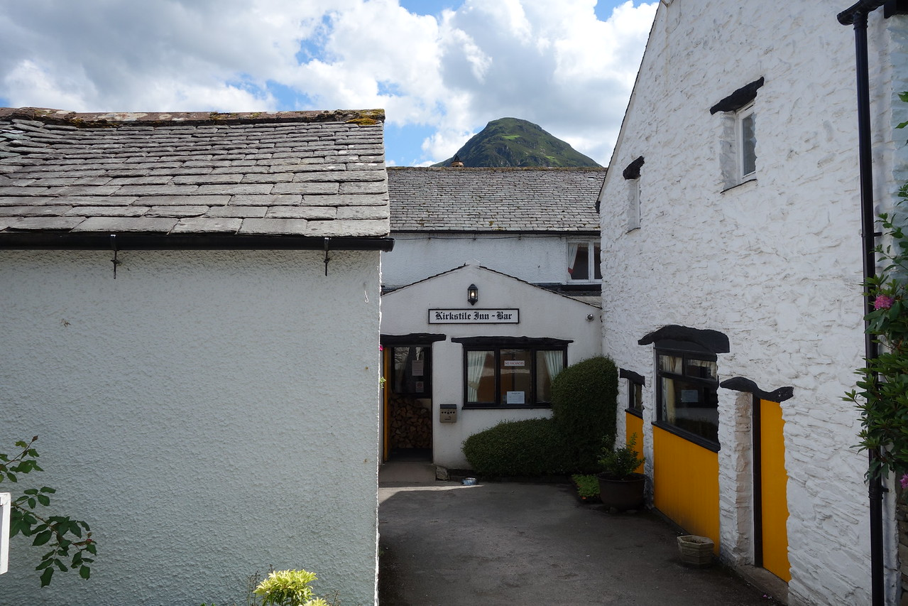 Stopped at the Kirkstile Inn for a late lunch