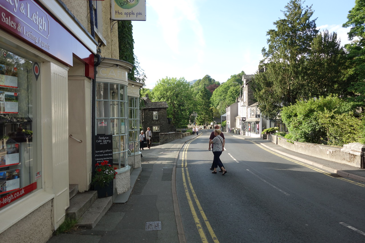 Ambleside where Dodds is located