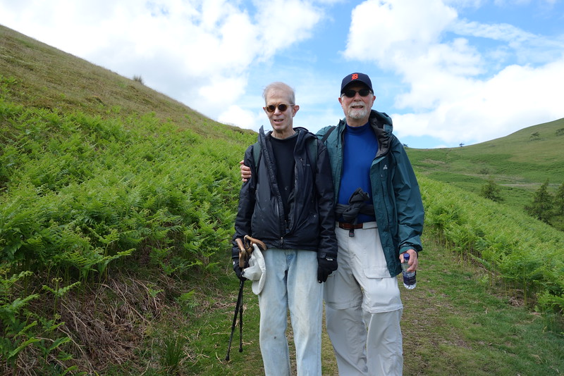 David and Bob on Low Fell
