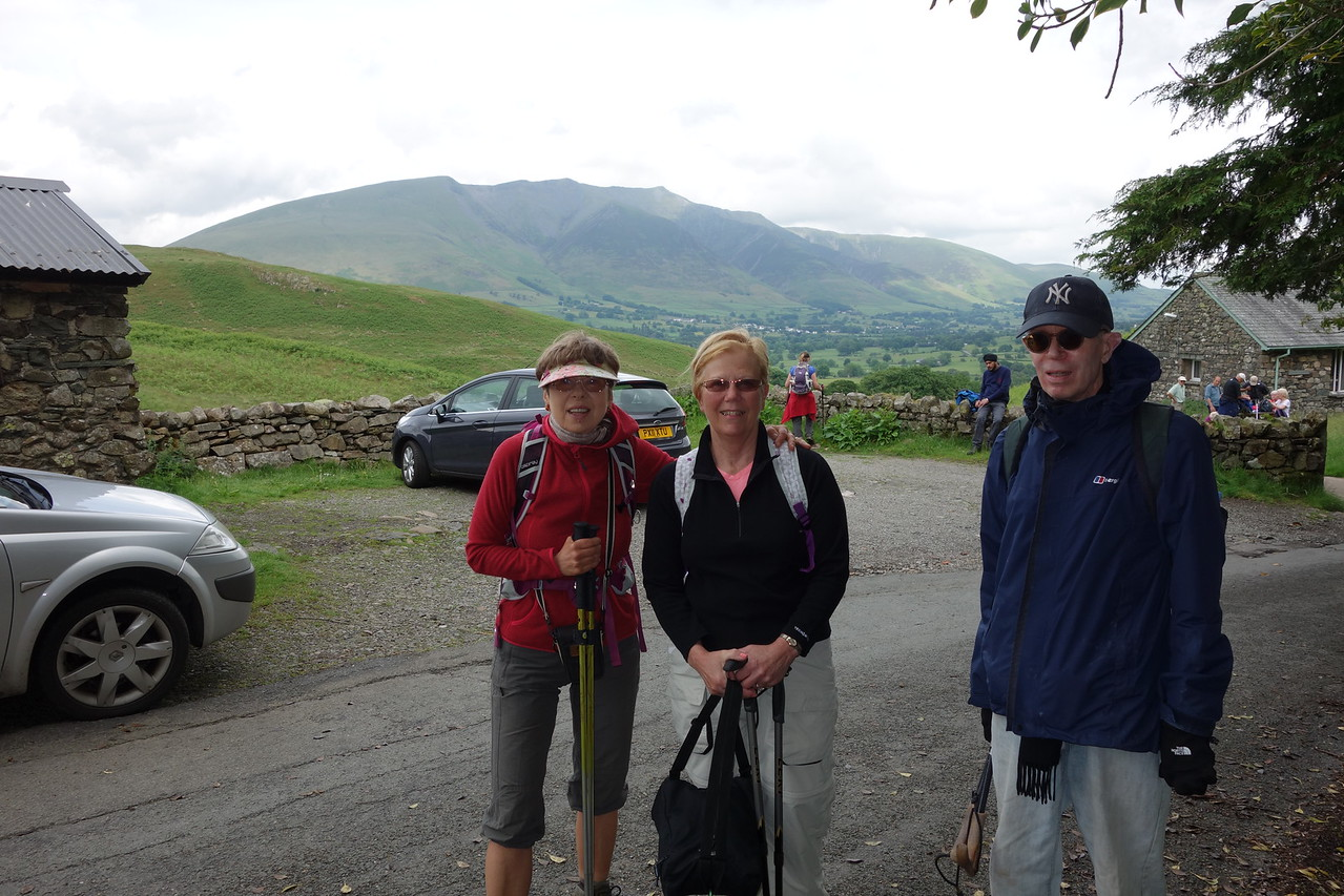 Anna joined us .  We started at St. John in the Vale.